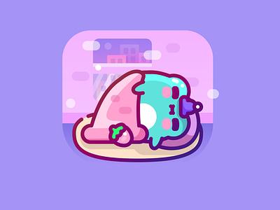 Mr. Sandman,… animal kawaii frog kero character cute design illustrator vector illustration