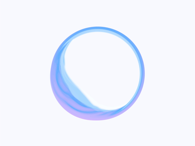 Artificial Intelligence Inspiration interface product web ring neon ui motion cinema4d c4d organic wave flow light blue logo app animation artificial intelligence ai affter effects