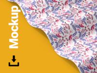 Seamless Pattern Branding Mock-up