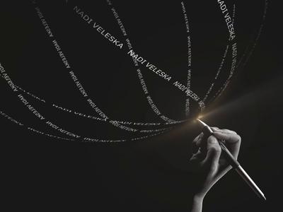 Illustration for Retouch School wacom website vector logo anim typography illustration branding wedesign web ui 3d motion school cinema4d c4d animation text design retouch