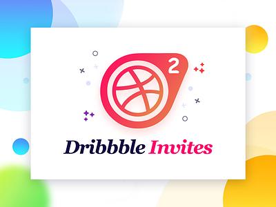 2 More Dribbble Invites game color design victory shot player two invites invitation dribbble draft debut