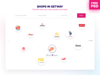 Free PSD for Find the Store