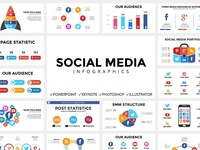 Social Media infographic templates | Free updates