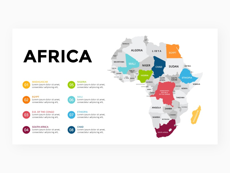Africa map. Infographic template. by TheSeamuss on Dribbble on map print, map of all of europe, map of america, map miami fl, map facebook covers, map in minecraft, map of african ethnic groups, map photography, map with legend, map sea monster, map charts, map from europe, map virginia usa, map with mountains, map travel, map making, map of european ethnic groups, map google, map in spanish, map norms,