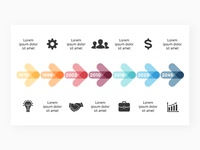 Timelines infographic templates | Free updates