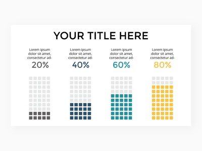 Infographic slide template. status percents graph data chart diagram keynote powerpoint presentation infographic template slide