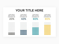 Infographic slide template.