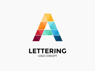 Abstract logo concept. Letter S. infographic letter a icon typogaphy font lettering letter identity logotype brand logo