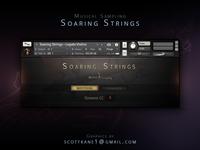 Musical Sampling Soaring Strings Kontakt Library Gui Design