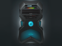 Hi-Tech Computer Case Design