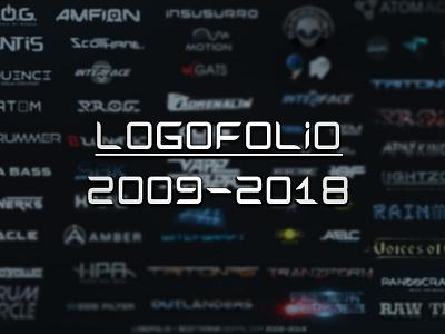 Logofolio Scott Kane / 2009-2018 logos futuristic modern hitech font logotype typeface type logo portfolio logo portfolio logofolio