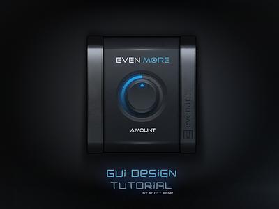 Audio GUI Design / Tutorial audio interface tutorial audio gui gui design tutorial video tutorial tutorial user interface vst audio ui graphical user interface design gui design gui