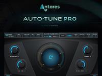 Antares AutoTune - Pro / VST Plugin Gui Design