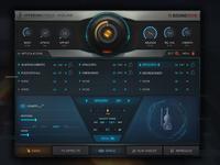Hyperion Strings Micro VST GUI Design
