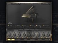 Concert Grand Piano User Interface Design