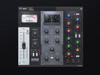 Satson Channel Strip VST plug-in Ui Design