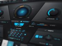 Antares 'Auto-Tune EFX+' Audio GUI Design