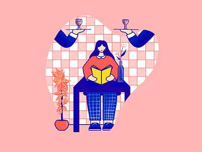 🇧🇪Belgian abroad traveler food local beers belgium procreate ipad pro woman illustrator character storytelling illustration