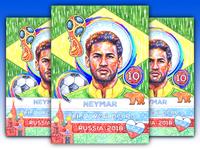 Illustration - World Cup: Neymar Junior