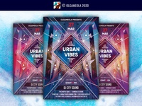 Club Music Party Flyer Template night party djs musical night club party dance club poster sound club flyer music poster music flyer nightclub party flyer dj trance urban electro clubbing club music