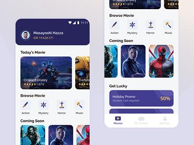 Flutix App apps mobile ui design