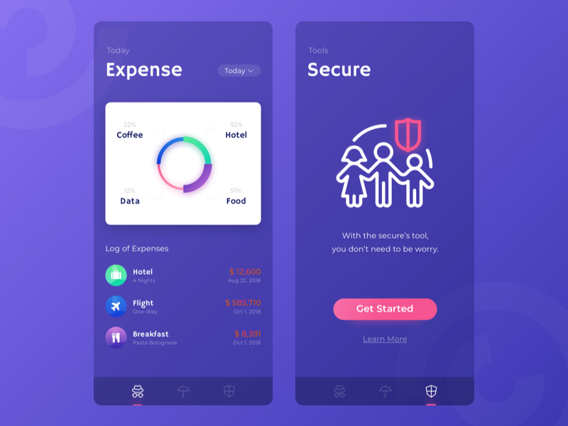 Wallete Secure game icons android ios wireframe ux angga risky mobile illustration ui design