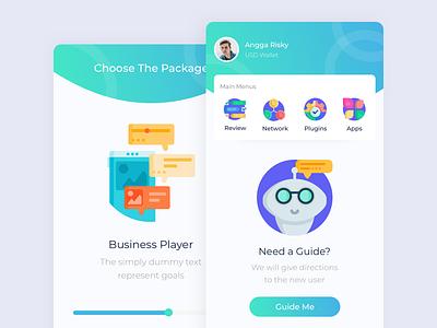 Money Bot App animation game design angga risky app icon ui illustration wireframe mobile ui design