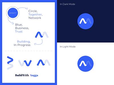 BuildWith Angga — Logo design branding logo