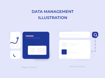 Data Management Illustration