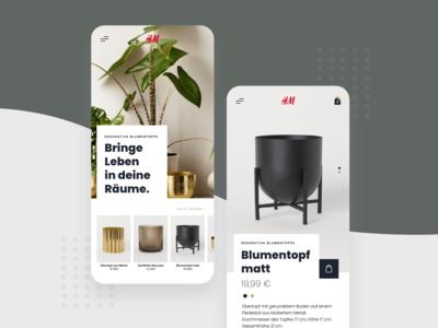 h&m home shop concept