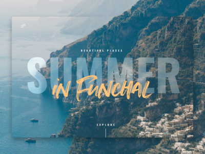 Travelblog Web Design