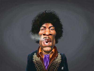 Celebrity Sunday - Jimi Hendrix
