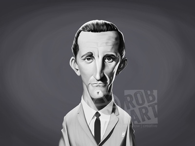 Kirk Douglas vintage face portrait illustration film movies caricature celebrity actor kirk douglas