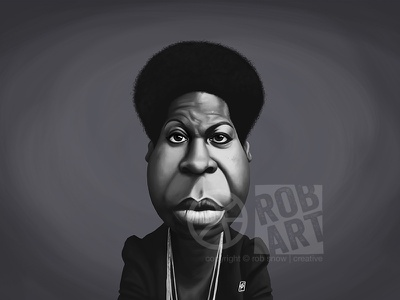Nina Simone digital art illustration face singer portrait jazz celbrity caricature performer music nina simone
