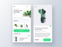 Plants Marketplace UI