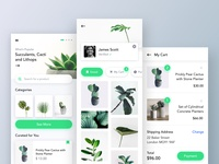 Plants Marketplace UI Part 2