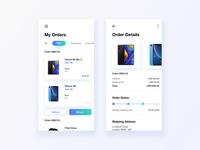 Order Details UI