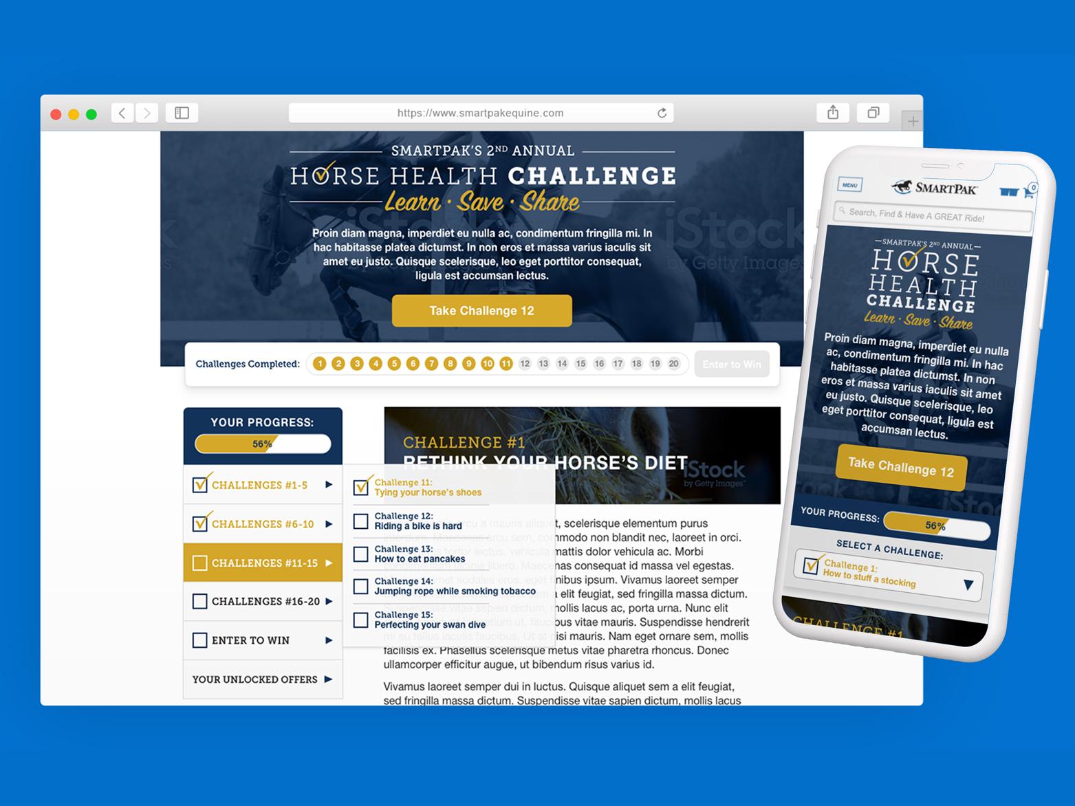 SmartPak's Horse Health Challenge