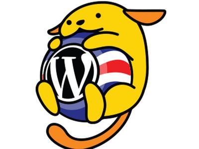 Wapuu Costa Rica vector wapuu costa rica wordpress logo