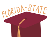 Florida State Graduation Illustration