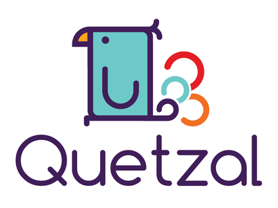 Quetzal vector illustration design logo