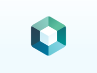 BIMsmith hexagon square cube gradient icon