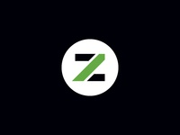 Zale Group Icon money minimal green black financial z
