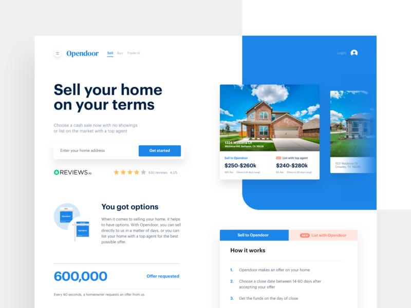 Homepage hero layout product branding landing page website ui flat rounded homepage hero desktop