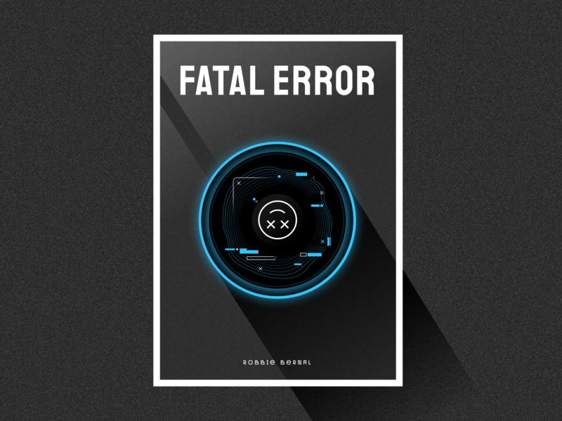 Fatal Error - Cover ai illustration concept short story book story post cover