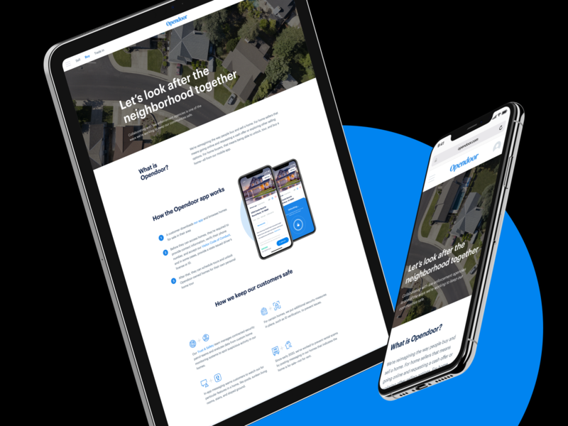 Law enforcement page security safety real estate web brand legal landing page layout responsive webdesign