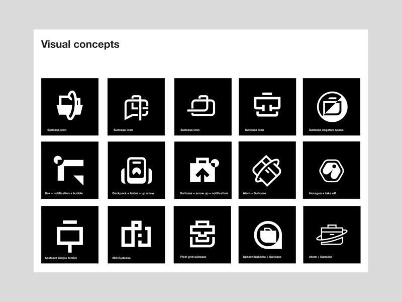Realkit Visual identity - design process identity logotype real estate vector illustration branding brand geometry layout wordmark logo