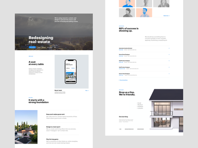Design team page layout layout real estate product brand teamwork values design team team branding