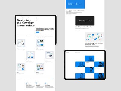 Swiss layout grid branding team web design web ui layout