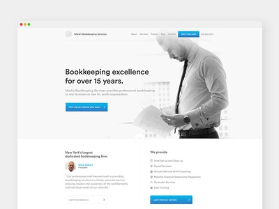 MBS rebranding website npm corporate accounting rebranding